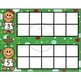Christmas Gingerbread Counting and Addition Using Ten Frames