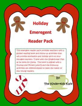 Christmas Gingerbread Emergent Reader Pack