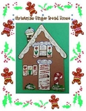 Christmas Gingerbread House Art Project