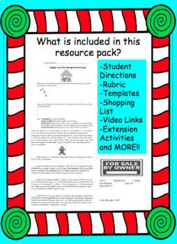 Christmas Project Based Learning-Gingerbread House STEM PBL