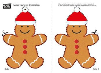 Christmas Bauble Gingerbread Man
