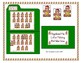 Christmas Gingerbread Man Letter Matching File Folder Game