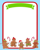 Christmas Gingerbread Party Invitation