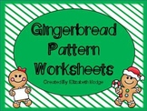 Christmas Gingerbread Patterns- FREEBIE!