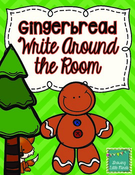 Christmas Gingerbread Write Around the Room