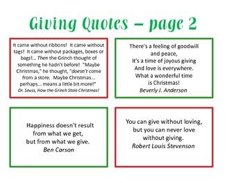Christmas Giving: All I Want to GIVE For Christmas