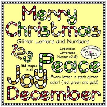 Christmas Glitter  Bundle