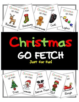 Christmas Go Fetch-- Just for fun!