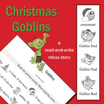 SL Christmas Goblins - A Read-and-Write Rebus Story