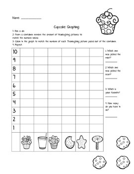 Christmas Goodies Graphing