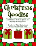 Christmas Goodies {a speech and language activity packet}
