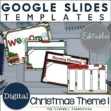 Christmas Google Slides Template 1 | Distance Learning