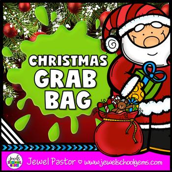 Christmas Grab Bag (Christmas STEM Activity and MORE)