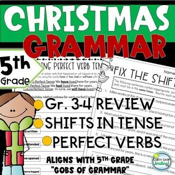 Christmas Activities ~ Christmas Grammar 5th Grade