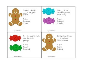 Christmas Grammar: Activities for Speech and Language Intervention