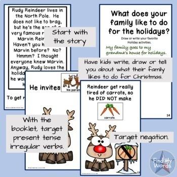 Holiday Grammar Activity