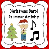 Christmas Grammar Activity (Parts of Speech)