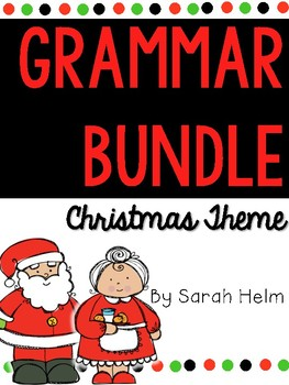 Grammar Bundle: Christmas Themed