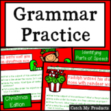 Christmas Grammar Practice for Promethean Board Use