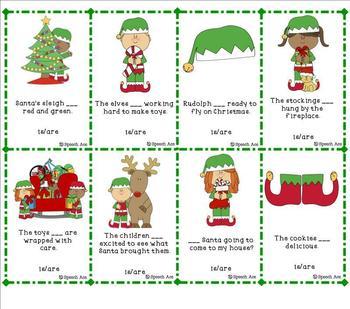 Christmas Grammar Pack