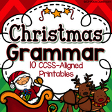 3rd Grade Christmas Activities: 3rd Grade Christmas Grammar & Parts of Speech