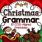 3rd Grade Christmas Activities: 3rd Grade Christmas Grammar & Parts of Speech
