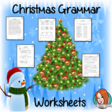 Christmas Grammar Worksheets