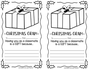Christmas Grams FREE