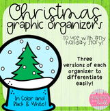 Christmas Graphic Organizers {to use with any story}!