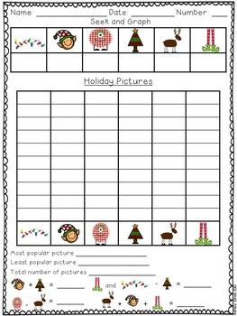 Christmas Graphing Activites