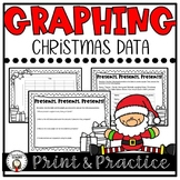 Christmas Graph Worksheet Bundle