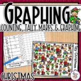 Christmas Graphing - I Spy - counting, tally mark & graphing recording sheets