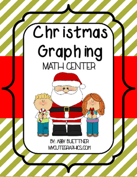 Christmas Graphing Math Center