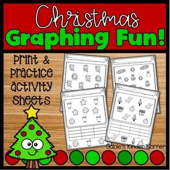 Christmas Graphing *NO PREP*
