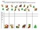 Christmas Graphing Practice for Kindergarten