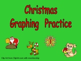 Christmas Graphing Practice for Kindergarten
