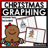 Christmas Graphing Shapes Worksheets