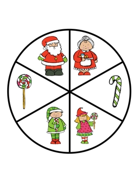 Christmas Graphing and Spinners