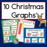 Christmas Graphs (Horizontal, Vertical and Pictograph lear