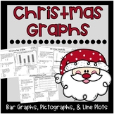 Christmas Graphs {Bar Graphs, Pictographs, Line Plots}