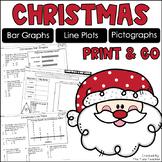 Christmas Graphs {Bar Graphs, Pictographs, Line Plots}