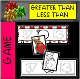 Christmas Greater Than/LessThan Musical Chairs Game