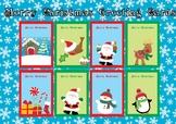 Christmas Greeting Cards - Printable - Merry Christmas Cards