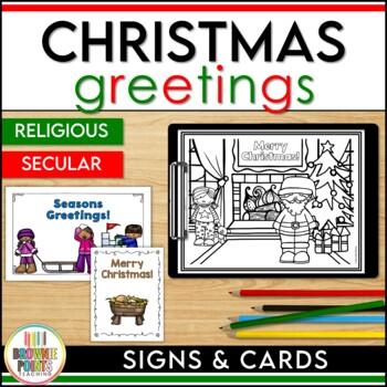 Christmas Greetings - Non-Religious & Religious