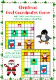Christmas Grid Coordinates Game: Help Santa save the presents