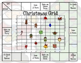 Christmas Grid -- Coordinates on a Grid Game
