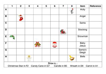 Christmas Grid Reference