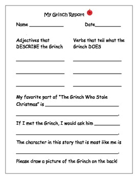 Christmas Grinch Report