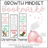Christmas-Growth Mindset Bookmarks