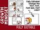 Christmas Growth Mindset Posters: SANTA (EDITABLE)